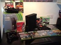 Xbox 360 with racing games bundle