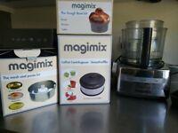 Magimix 5200XL Chrome Premium pack