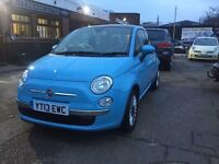 Fiat 500, full service history, not march 2018, one lady owner