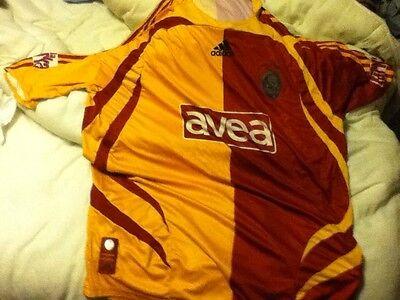 Galatasaray (turkish) Home Football Shirt And Shorts