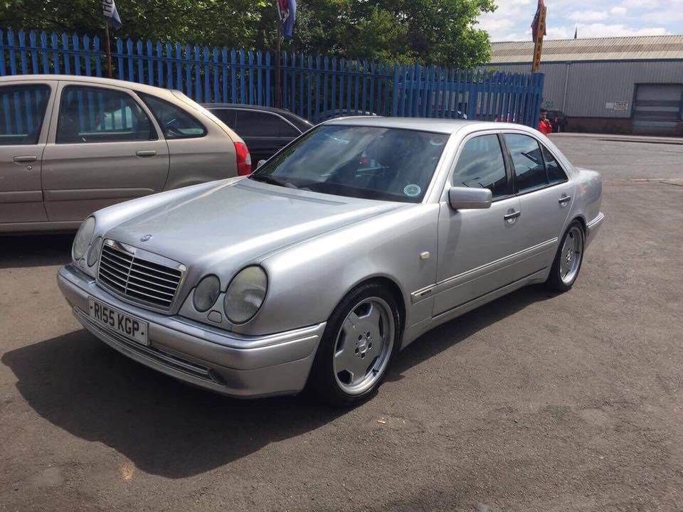 mercedes benz w210 e55 amg nice example not c63 e63 in walsall west midlands gumtree. Black Bedroom Furniture Sets. Home Design Ideas