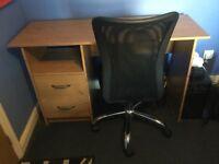 Desk and Desk