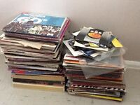 """Records 7"""", 12"""" singles, 78s, albums and box sets"""
