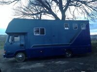 Well Looked After Leyland Daf 7.5 Tonne Horsebox