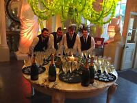 Events waiters and waitresses required
