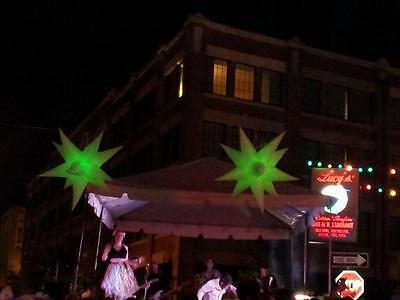Inflatable holiday decoration star hang on wedding & Stage,night club star,6ft