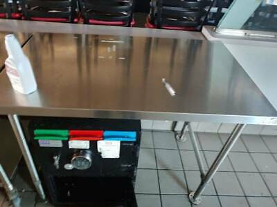 Restaurant Equipment - Stationary Stainless Steel Prep Table Commercial Kitchen