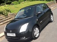 2008 SUZUKI SWIFT 1.5 GLX 5 DOOR IN SUPERB CONDITION AND DRIVES LIKE NEW