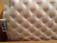 Never used tempur double mattress