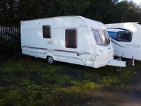 Lunar Clubman 475 2 berth caravan Awning, VGC, light to tow, Bargain !