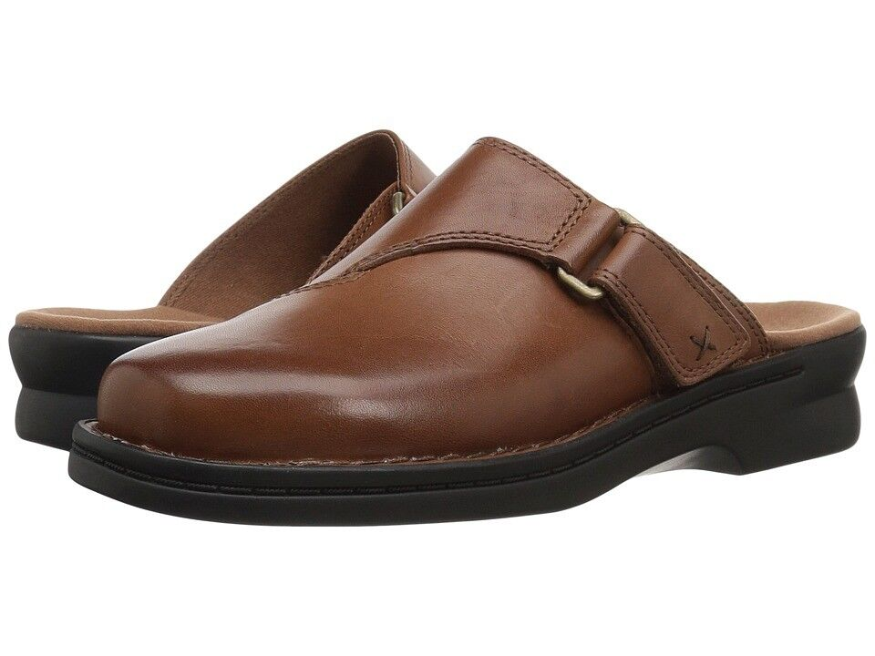 Clarks Shoes Women's Patty Nell Mule Clog Slip On Backout Dk Tan 5 or 5.5