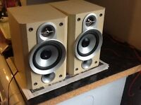 PAIR OF JVC SPEAKERS 50w APPROX 15inch high £10