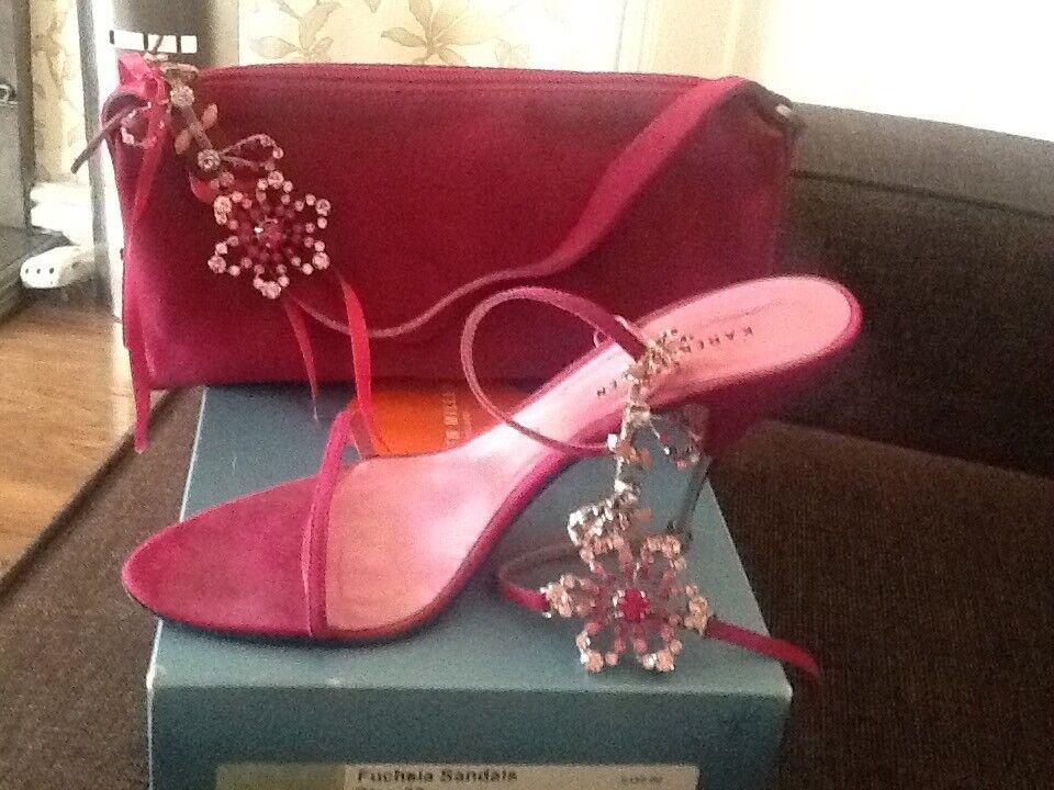 Karen Millan handbag £20 with free shoes size 6