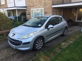 Peugot 207 **Low Mileage** New Clutch, Timing belt, Water Pump, Coil Pack And battery