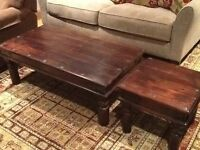Large and Small Coffee Table