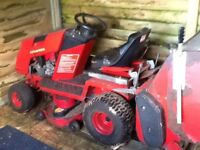 Count ax ride on mower