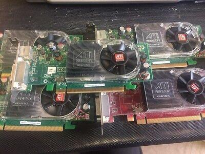 (lot of 5) ATI RADEON HD2400 XT 256MB PCIE Video Card Model B276 Low Profile