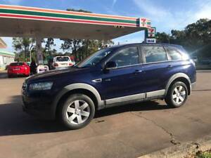 2012 Holden Captiva  -7 Seats -Auto- Low Kms -Rego -Driveaway Cleveland Redland Area Preview