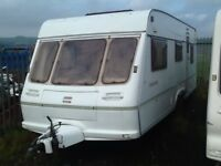 2001 fleetwood countryside 580/5 berth double DINNETTE twin axel fixed bed