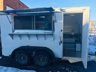 2004 - 6 X 12 Food Concession Trailer Mobile Kitchen For Sale In Colorado