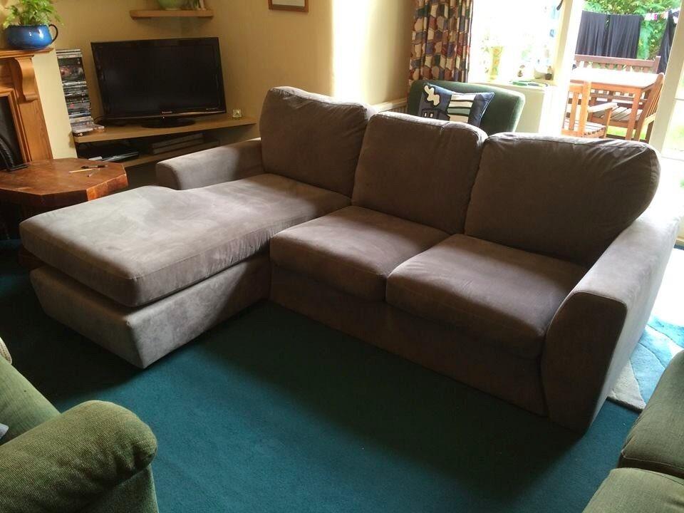 Beautiful Three Seater Corner Sofa From John Lewis Great Condition