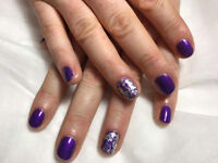Nails for £20-CND shellac or calgel extensions in Currie, Edinburgh. FREE PARKING AVAILABLE.