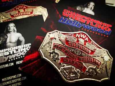 Officially Licensed JCP NWA Wrestling TV Championship Belt Collectors Pin TBS ()