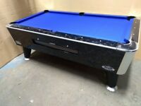 Six foot Sam Leisure Bison slate bed American pool table.Converted to freeplay. Free Local Delivery