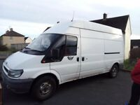 Ford Transit 350 LWB Hitop 88000 miles fitted with security deadlocks no rust or welding sept mot