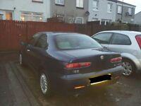 2001 reg Alfa Romeo 156, spares or repair