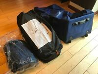 Halfords Family Tent - Unopened and unopened sleeping bag and travel case