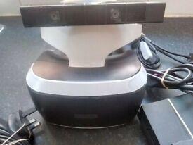 PLAYSTATION 4 VR PSVR FULL SET with Camera
