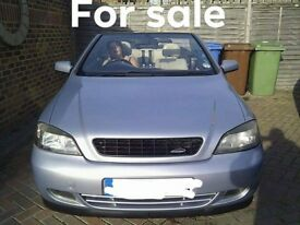 Vauxhall Astra 2.2 Bertone Convertible . Mot until june 2019. Full service history. Fun car.