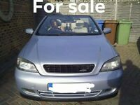 Vauxhall Astra 2.2 Bertone Convertible . Mot until june 2019. Full service history. Fun car.
