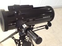 Tasco Telescope Complete starter kit includes tripod, instructions.