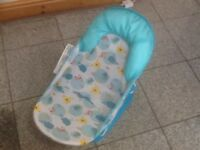 Baby bather seat-enables you to bathe baby with 2 hands whilst baby is sitting securely-3available