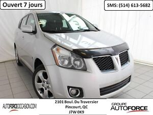 2009 Pontiac Vibe AWD AUT AC 4CYL TOUTE EQUIPE MAGS