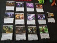 Magic the gathering black rares bundle