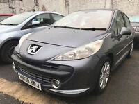 2008 08 PEUGEOT 207 1.6 SE PREMIUM AUTO (MOT 03/18) ***CHEAPER PART EX WELCOME***