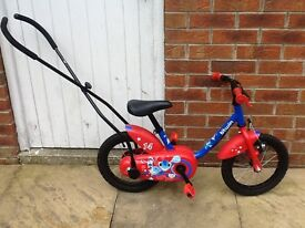 Childs training bicycle