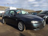 Alfa Romeo 156 2.0 165hp JTS Veloce, 05 plate 2005...89,000 miles... f.s.h...timing belt done!!!!