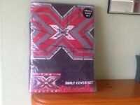 X FACTOR. DUVET SET. DOUBLE