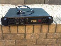 Carlsbro power line 1200 watt power amp