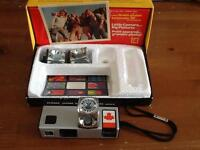 Kodak pocket instamatic 10 camera outfit mint in box vintage