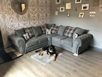 VERONA CORNER CHESTERFIELD SOFA LARGE 5 SEAT AVAILABLE IN 3+2 AS WELL ORDER NOW