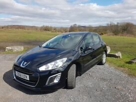 Peugeot 308 Sr Hdi 1600cc diesle 61 plate yr 2011 new cambelt, w pump fitted. top condition