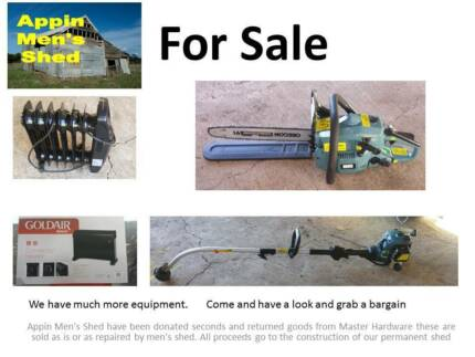 Mens Shed Huge Garage Sale, Power Tools, Gardening, Electrical. Appin Wollondilly Area Preview