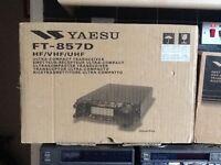 Yeasu FT 857 D & ATAS antenna