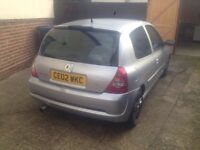 RENAULT CLIO 2LTR T CUP