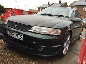 vauxhall vectra gsi 2.5 v6 still got two months mot track car daily tow bar with electrics